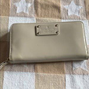 Patent leather Kate Spade Wallet